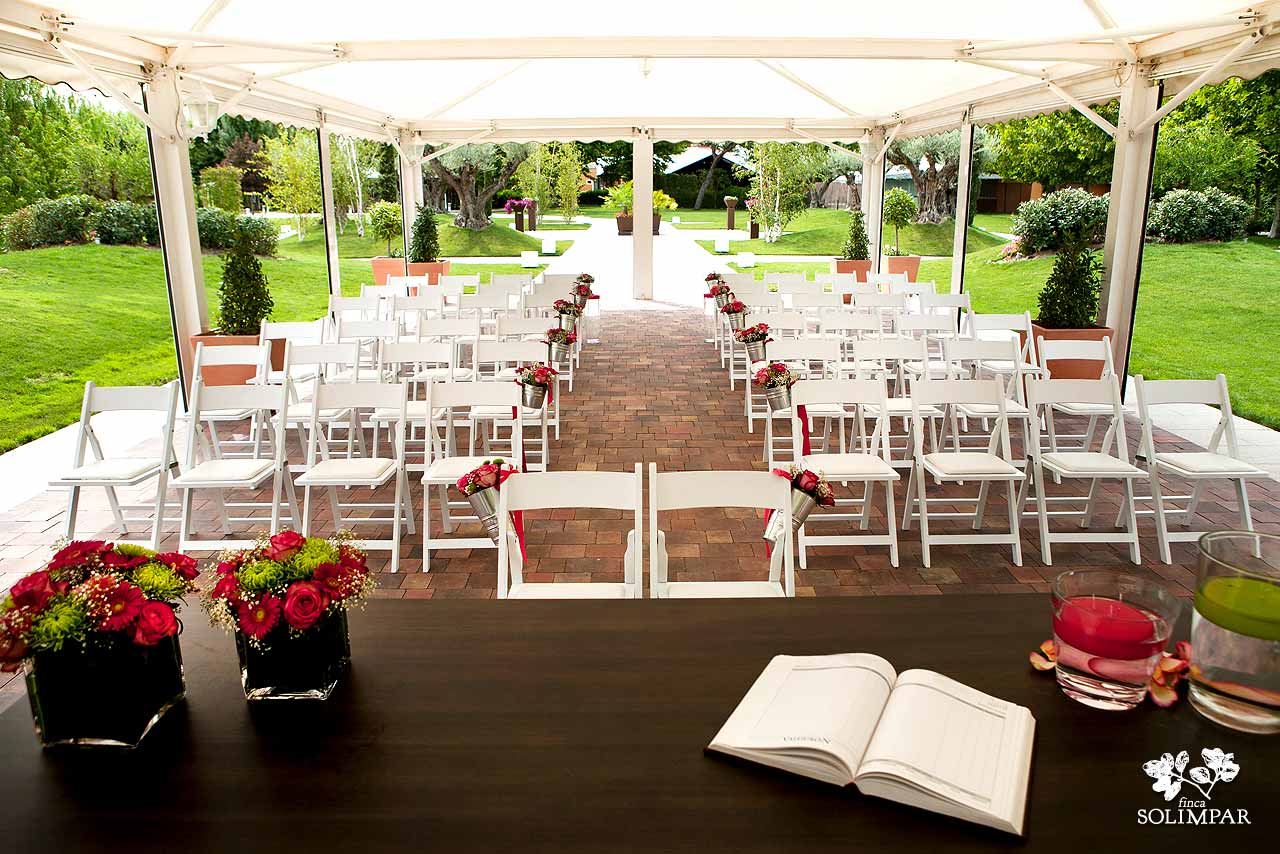 Ceremonias civiles 02 archivos finca solimpar - Decoracion jardin boda civil ...
